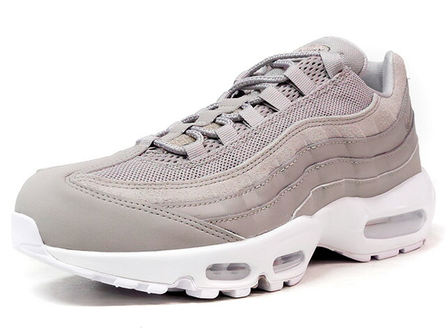 "NIKE AIR MAX 95 PRM ""COBBLESTONE"" ""LIMITED EDITION for ICONS""  S.GRY/WHT (538416-005)"
