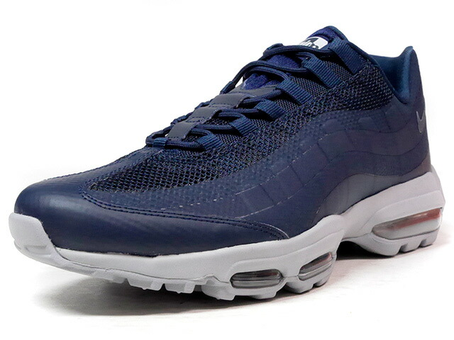 "NIKE AIR MAX 95 ULTRA ESSENTIAL ""LIMITED EDITION for ICONS""  NVY/GRY (857910-404)"