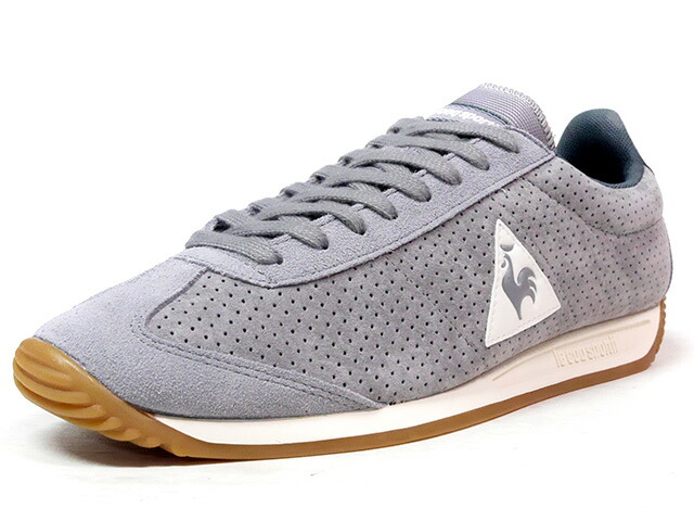 "le coq sportif QUARTZ PERFORATED NUBUCK ""LIMITED EDITION for BETTER +""  GRY/NAT/GUM (1720088)"