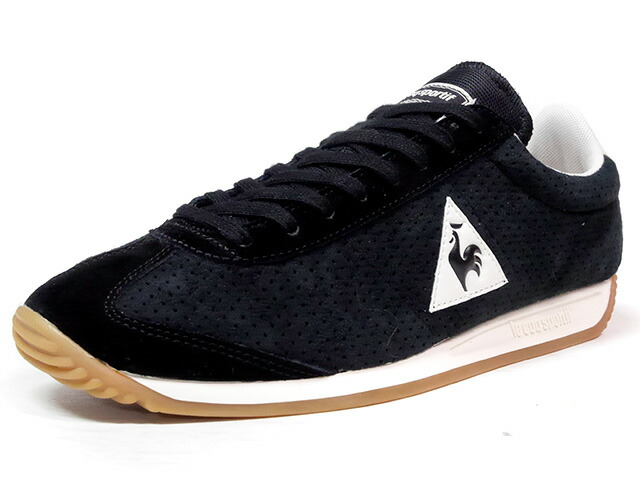 "le coq sportif QUARTZ PERFORATED NUBUCK ""LIMITED EDITION for BETTER +""  BLK/NAT/GUM (1720090)"