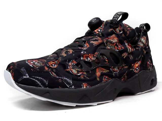 "Reebok INSTAPUMP FURY ROAD TK ""CITY WORLD TOUR PACK"" ""LIMITED EDITION""  BLK/ORG/WHT/SLV (BD4959)"