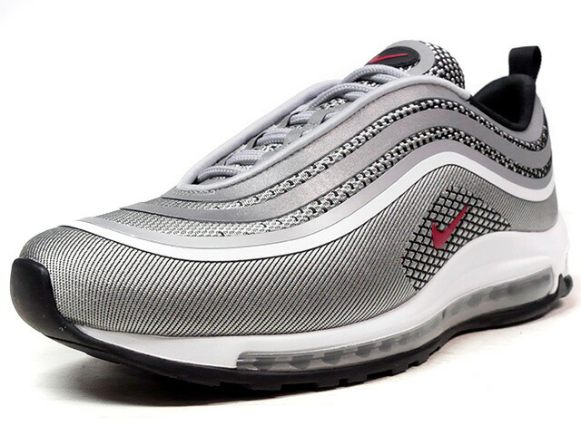 "NIKE (WMNS) AIR MAX 97 ULTRA '17 ""SILVER BULLET"" ""LIMITED EDITION for ICONS""  SLV/RED/BLK (917704-002)"