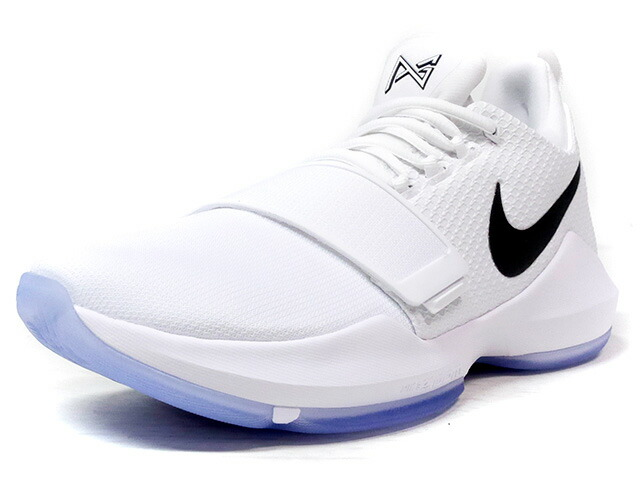 "NIKE PG 1 EP ""WHITE ICE"" ""PAUL GEORGE"" ""LIMITED EDITION for BASKETBALL SIGNATURE""  WHT/BLK (878628-100)"