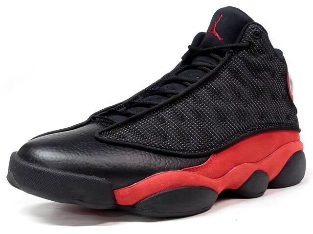 "NIKE AIR JORDAN 13 RETRO ""BRED"" ""MICHAEL JORDAN"" ""LIMITED EDITION for JORDAN BRAND""  BLK/RED (414571-004)"