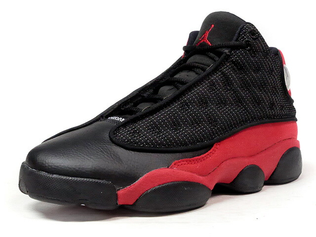 "NIKE AIR JORDAN 13 RETRO BG ""BRED"" ""MICHAEL JORDAN"" ""LIMITED EDITION for JORDAN BRAND""  BLK/RED (414574-004)"