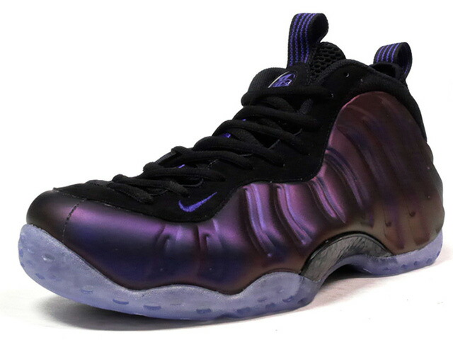 "NIKE AIR FOAMPOSITE ONE ""EGGPLANT"" ""LIMITED EDITION for NONFUTURE""  PPL/BLK (314996-008)"