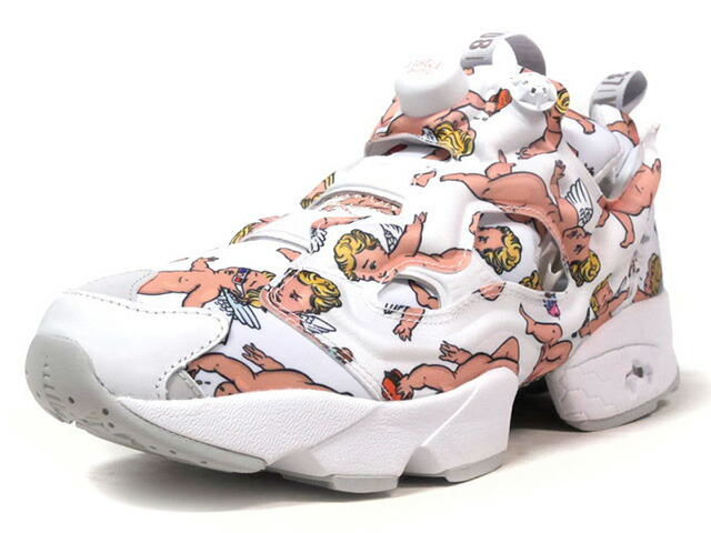 "Reebok INSTAPUMP FURY LA ""CITY WORLD TOUR PACK"" ""LIMITED EDITION""  WHT/MULTI/GLD (BD4747)"
