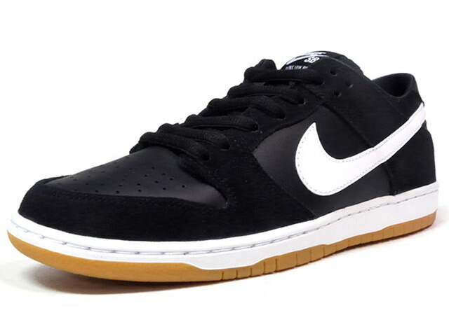 "NIKE ZOOM DUNK LOW PRO ""LIMITED EDITION for NIKE SB""  BLK/WHT/GUM (854866-019)"
