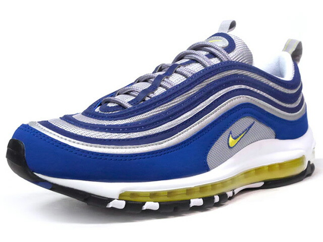 "NIKE AIR MAX 97 ""ATLANTIC BLUE"" ""LIMITED EDITION for ICONS""  BLU/SLV/YEL (921826-401)"