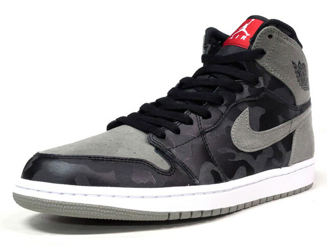 "NIKE AIR JORDAN 1 RETRO HIGH PREM ""SHADOW CAMO"" ""MICHAEL JORDAN"" ""LIMITED EDITION for JORDAN BRAND""  BLK/OLV/RED/WHT (AA3933-034)"