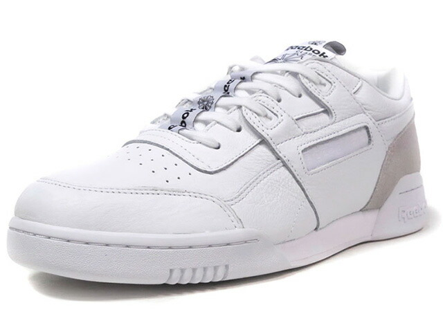 "Reebok WORKOUT PLUS IT ""LIMITED EDITION""  WHT/L.GRY (BS6214)"