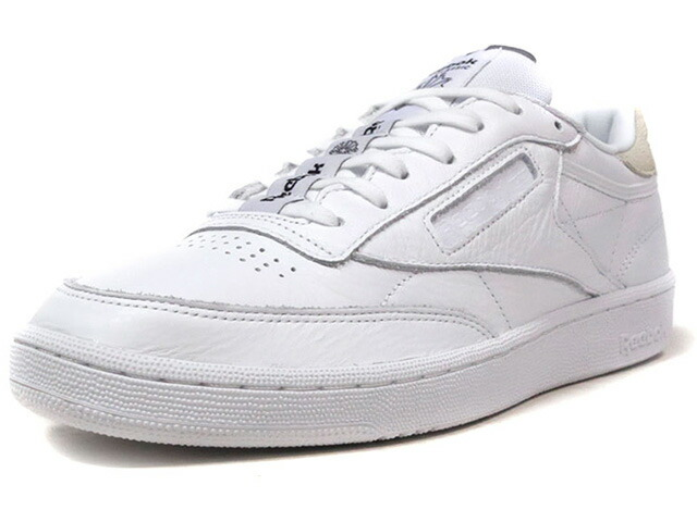 "Reebok CLUB C 85 IT ""LIMITED EDITION""  WHT/L.GRY (BS6212)"