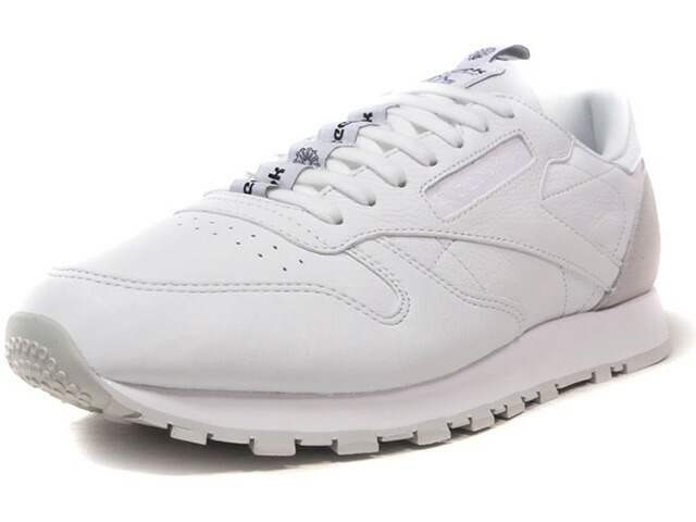 "Reebok CL LEATHER IT ""LIMITED EDITION""  WHT/L.GRY (BS6209)"