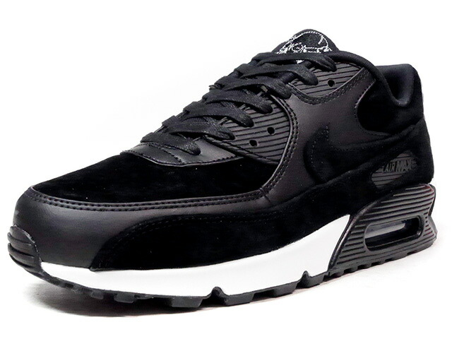 "NIKE AIR MAX 90 PREMIUM ""BLACK SKULL"" ""LIMITED EDITION for NSW BEST""  BLK/SLV/WHT (700155-009)"