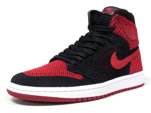 "NIKE AIR JORDAN 1 RETRO HI FLYKNIT BG ""BRED"" ""MICHAEL JORDAN"" ""LIMITED EDITION for JORDAN BRAND""  BLK/RED/WHT (919702-001)"
