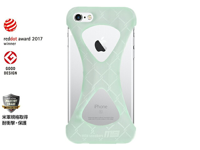 "GOODS Palmo x mita sneakers for iPhone 6 & iPhone 6s ""GLOW IN THE DARK""  GID/WHT (Palmo6msgid)"