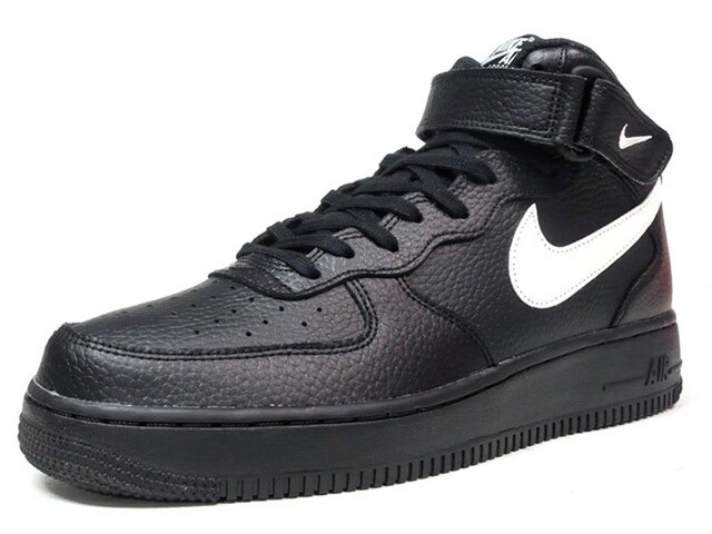"NIKE AIR FORCE 1 MID 07 ""LIMITED EDITION for ICONS""  BLK/WHT (315123-043)"