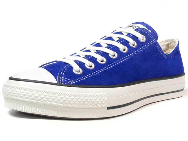 "CONVERSE SUEDE ALL STAR J OX ""made in JAPAN"" ""LIMITED EDITION""  BLU/NAT (32158726)"