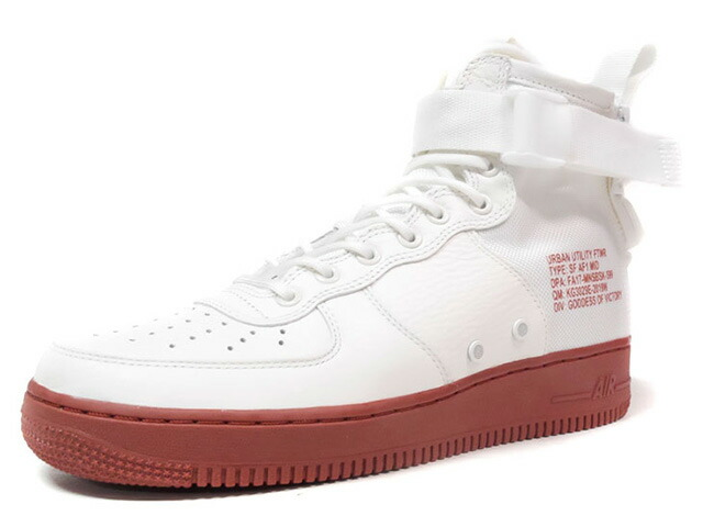 "NIKE SF AF 1 MID ""LIMITED EDITION for NONFUTURE"" O.WHT/RED (917753-100)"
