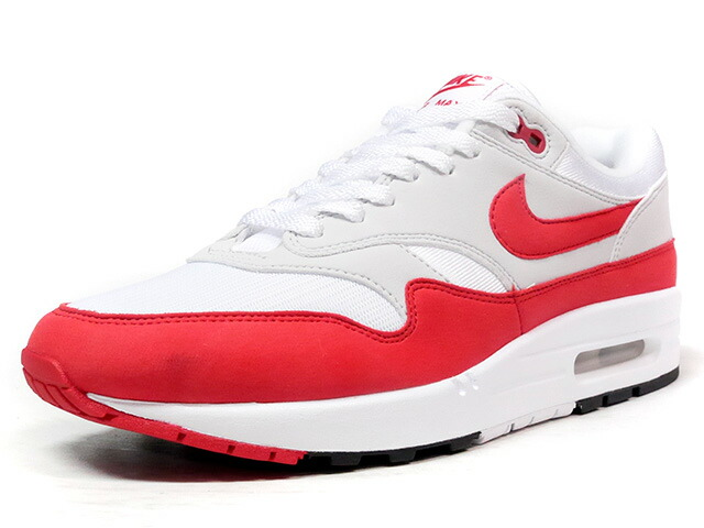 "NIKE AIR MAX 1 ANNIVERSARY ""AIR MAX 1 30th ANNIVERSARY"" ""LIMITED EDITION for NONFUTURE""  WHT/RED/GRY (908375-103)"