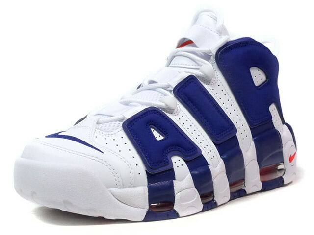 """NIKE AIR MORE UPTEMPO '96 """"NEW YORK KNICKS"""" """"LIMITED EDITION for NSW BEST""""  WHT/BLU/ORG (921948-101)"""