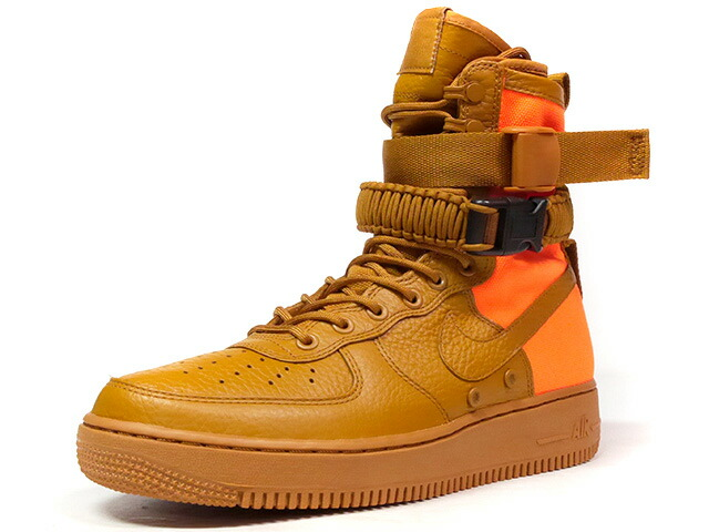 "NIKE SF AF 1 QS ""LIMITED EDITION for NONFUTURE""  BRN/ORG (903270-778)"