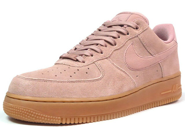 "NIKE AIR FORCE 1 07 LV8 SUEDE ""LIMITED EDITION for ICONS""  P.BGE/GUM (AA1117-600)"
