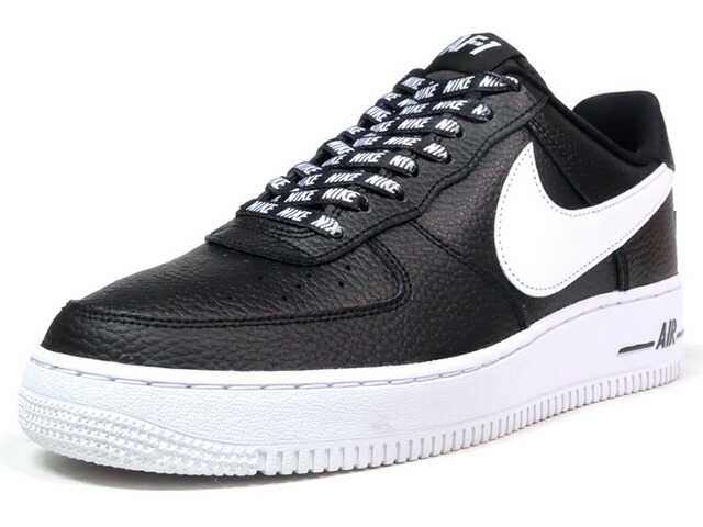 "NIKE AIR FORCE 1 07 LV8 ""STATEMENT GAME"" ""LIMITED EDITION for ICONS""  BLK/WHT (823511-007)"