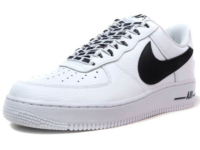 "NIKE AIR FORCE 1 07 LV8 ""STATEMENT GAME"" ""LIMITED EDITION for ICONS""  WHT/BLK (823511-103)"
