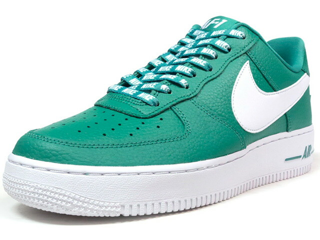 "NIKE AIR FORCE 1 07 LV8 ""STATEMENT GAME"" ""LIMITED EDITION for ICONS""  GRN/WHT (823511-302)"