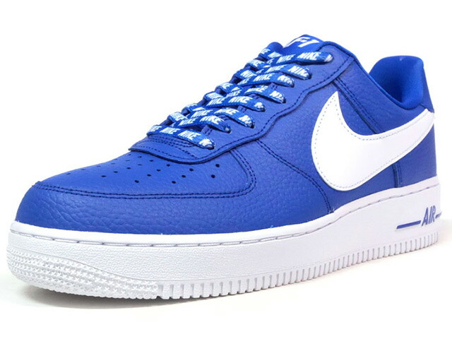 "NIKE AIR FORCE 1 07 LV8 ""STATEMENT GAME"" ""LIMITED EDITION for ICONS""  BLU/WHT (823511-405)"