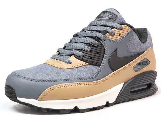 "NIKE AIR MAX 90 PREMIUM ""WOOL"" ""LIMITED EDITION for ICONS""  GRY/BGE/BLK/NAT (700155-010)"