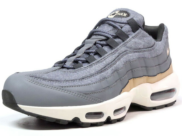 "NIKE AIR MAX 95 PRM ""WOOL"" ""LIMITED EDITION for ICONS""  GRY/BGE/NAT (538416-009)"
