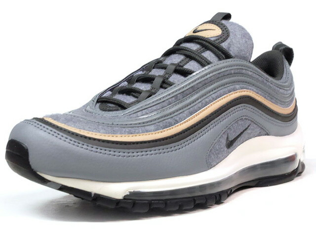 "NIKE AIR MAX 97 PREMIUM ""WOOL"" ""LIMITED EDITION for ICONS""  GRY/BLK/BGE/NAT (312834-003)"
