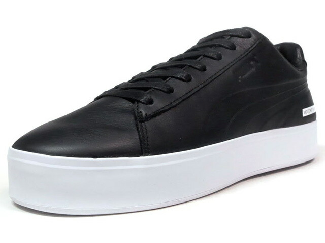 "Puma COURT PLATFORM BLVCK SCVLE ""BLACK SCALE"" ""LIMITED EDITION for CREAM""  BLK/WHT (365918-01)"