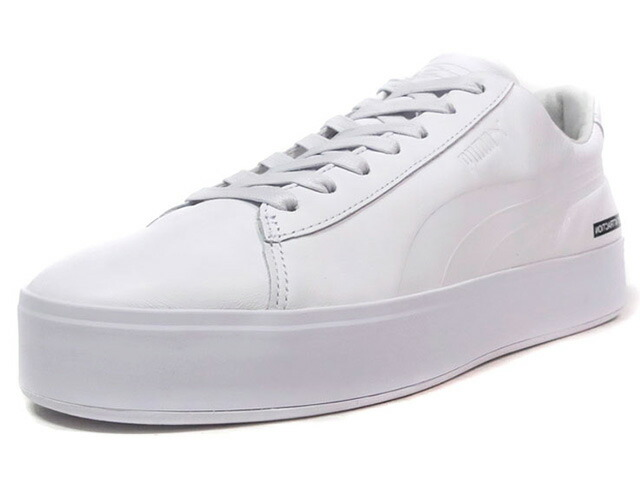 "Puma COURT PLATFORM BLVCK SCVLE ""BLACK SCALE"" ""LIMITED EDITION for CREAM""  WHT/WHT (365918-02)"