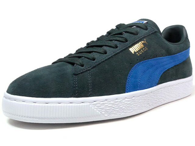 "Puma SUEDE CLASSIC + ""LIMITED EDITION for LIFESTYLE""  D.GRN/BLU/WHT (363242-30)"