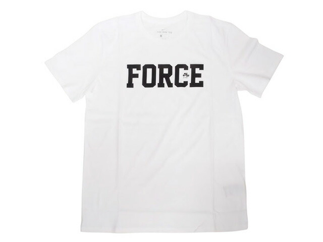 "NIKE AS M NK AF 35TH TEE ""AIR FORCE 1 35th ANNIVERSARY"" ""LIMITED EDITION for NONFUTURE""  WHT/BLK (AR0597-100)"