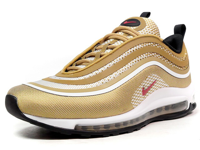 "NIKE AIR MAX 97 ULTRA '17 ""METALLIC GOLD"" ""LIMITED EDITION for ICONS""  GLD/RED/WHT (918356-700)"