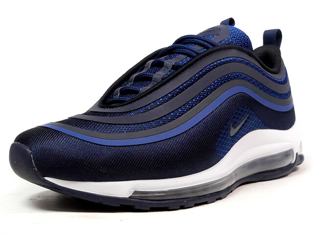 "NIKE AIR MAX 97 ULTRA '17 ""OBSIDIAN"" ""LIMITED EDITION for ICONS""  NVY/BLU/WHT (918356-401)"
