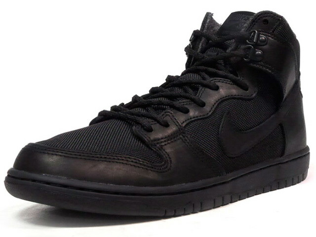 "NIKE ZOOM DUNK HIGH PRO BOTA ""TRIPLE BLACK"" ""LIMITED EDITION for NIKE SB""  BLK/BLK (923110-001)"