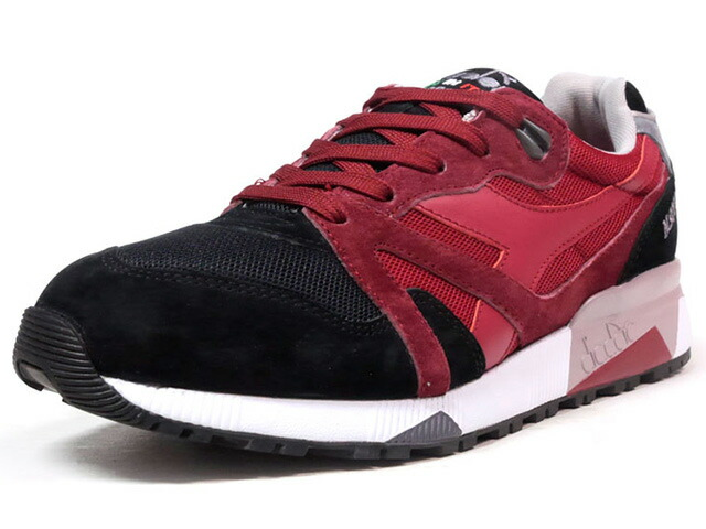 """diadora N9000 ITALIA """"made in ITALY"""" """"LIMITED EDITION""""  RED/BLK/GRY (170468-C7094)"""