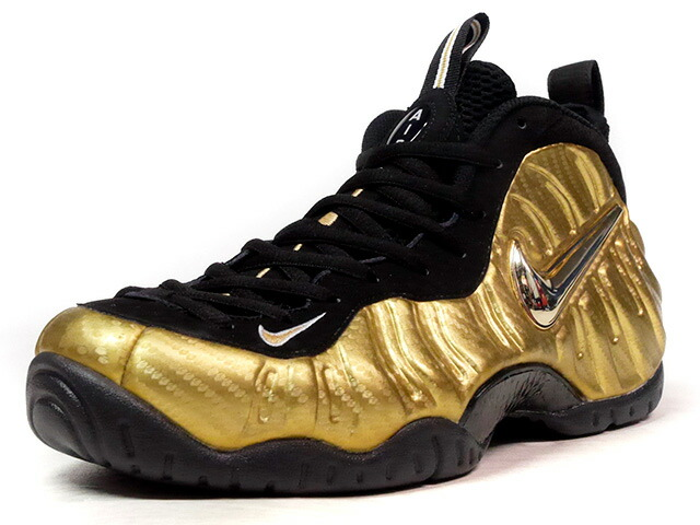 "NIKE AIR FOAMPOSITE PRO ""METALLIC GOLD"" ""LIMITED EDITION for NONFUTURE""  GLD/BLK (624041-701)"