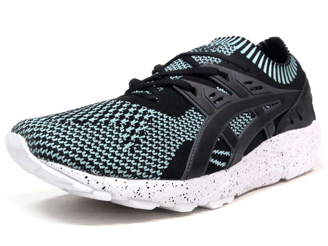 "ASICSTIGER GEL-KAYANO TRAINER KNIT ""GLOW IN THE DARK PACK"" ""LIMITED EDITION""  SAX/BLK/GRY (HN706-6790)"