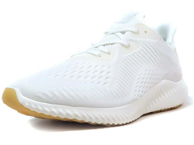 """adidas ALPHA BOUNCE EM UNDYE """"LIMITED EDITION""""  O.WHT/GUM (BW1225)"""