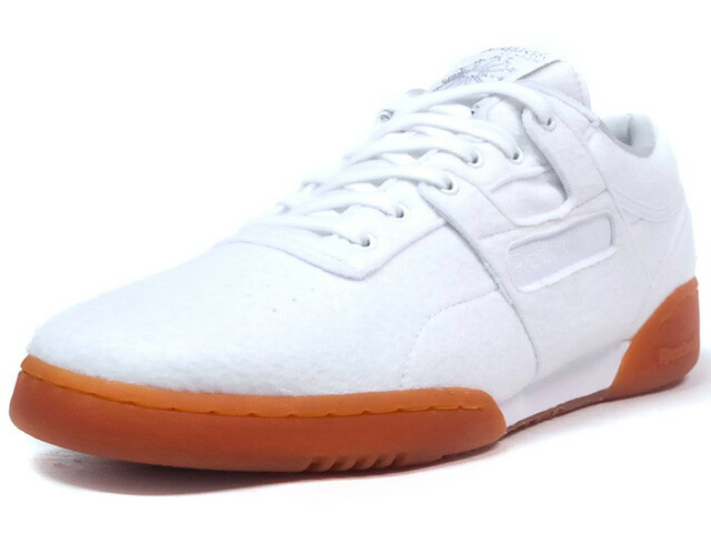"Reebok WORKOUT LO CLEAN SOLEBOX ""solebox"" ""FITNESS HERITAGE"" ""LIMITED EDITION for CERTIFIED NETWORK""  WHT/SLV/GUM (BS7684)"