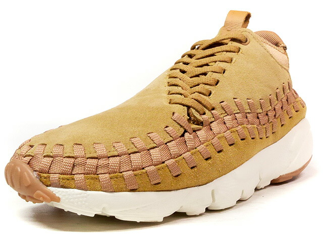 "NIKE AIR FOOTSCAPE WOVEN CHUKKA ""WHEAT"" ""LIMITED EDITION for NSW BEST""  WHEAT/NAT/GUM (443686-205)"