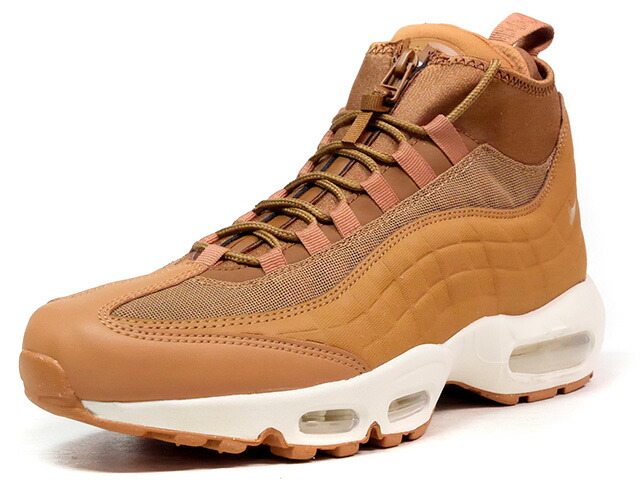 "NIKE AIR MAX 95 SNEAKERBOOT ""WHEAT"" ""LIMITED EDITION for NSW BEST""  WHEAT/NAT/GUM (806809-201)"