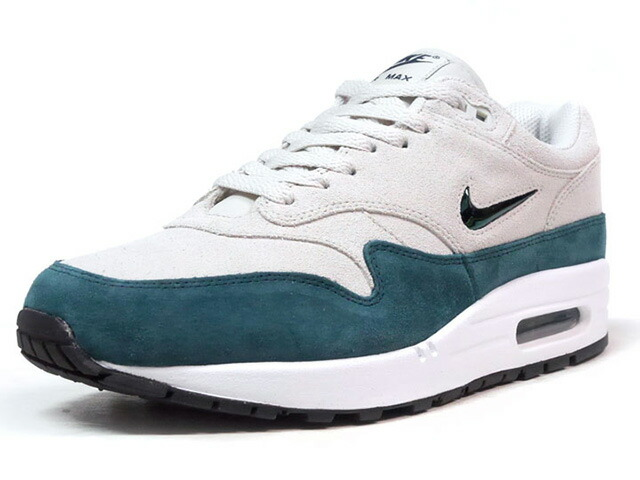 "NIKE AIR MAX 1 PREMIUM SC ""JEWEL"" ""LIMITED EDITION for NSW BEST""  L.GRY/GRN/WHT/BLK (918354-003)"