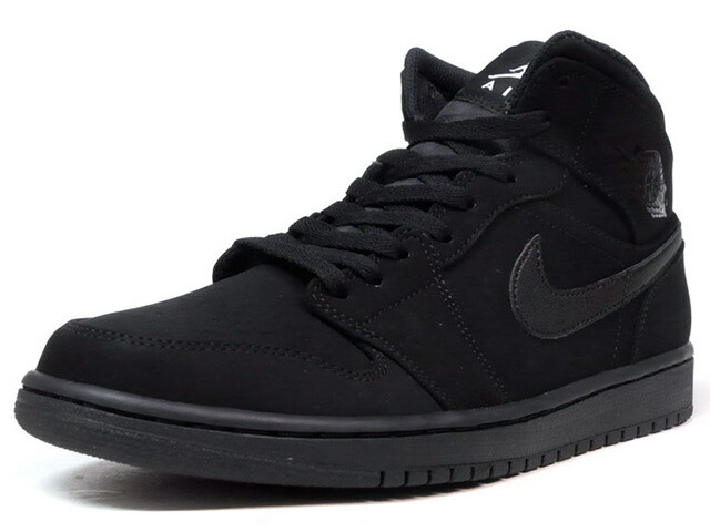 "NIKE AIR JORDAN 1 MID ""MICHAEL JORDAN"" ""LIMITED EDITION for JORDAN BRAND""  BLK/BLK (554724-040)"